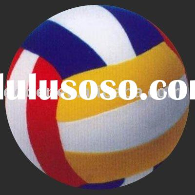 Short plush volleyball