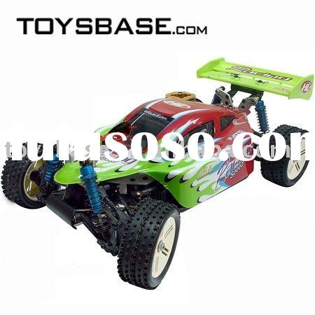 Wholesale RC Nitro Car Raptor 1:10 4WD Nitro Buggy RCC65813