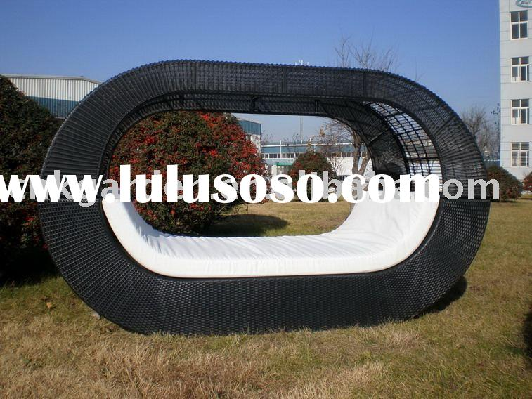 wicker bed wicker lounger outdoor wicker furniture
