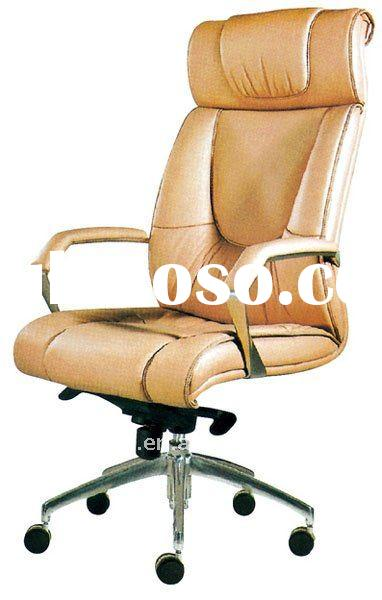 yellow high back office chair/office leather chair