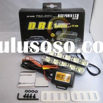 2011 New LED Running Lights E4 R87 Automotive drl On/Off switch
