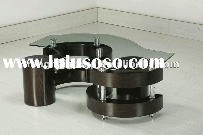 2012 European style modern high quality MDF coffee table MCT-2021A-3