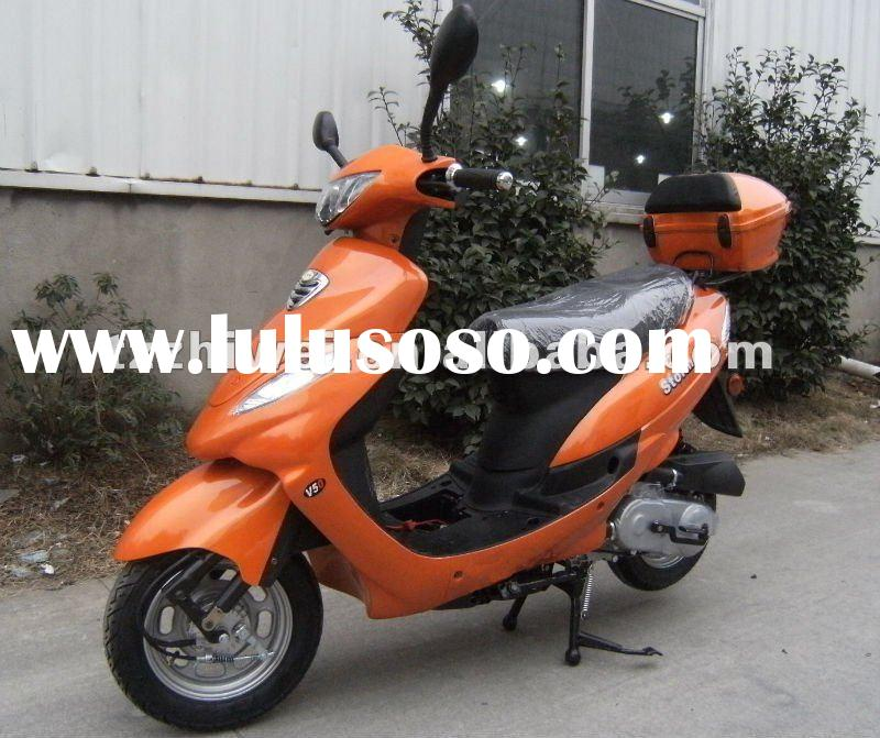 2012 new hot cheap scooters , 49cc gas power motor scooters,(ZW50QT-16C)