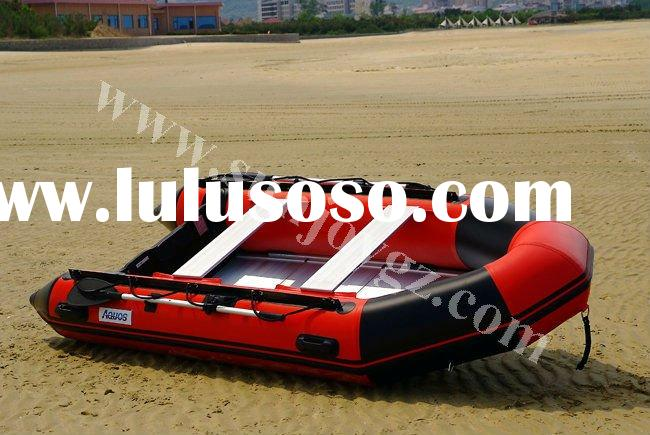 2012 new pvc inflatable air floor motor boat zodiac inflatable boat