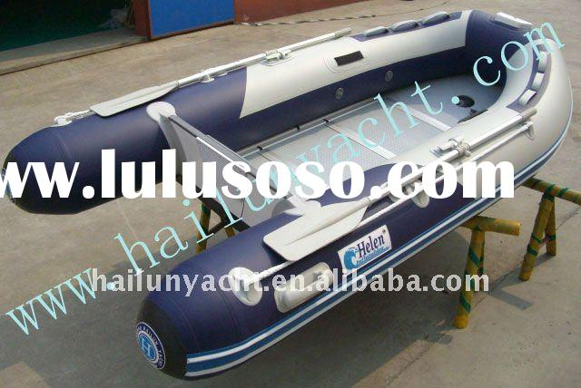 2.3M-7.3M fishing boats for sales(PVC and Hypalon)