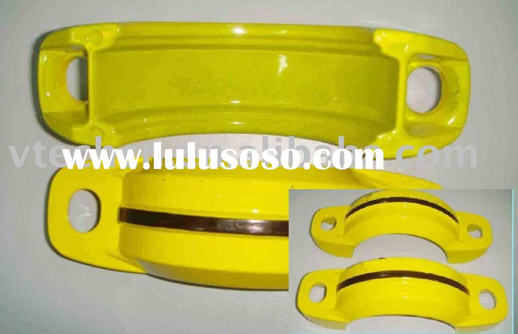4 inch Painted Victaulic Clamp