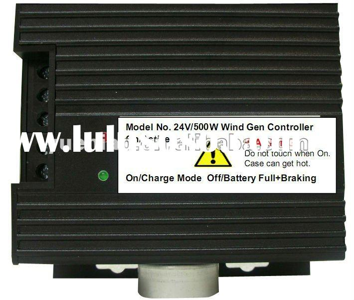 500W wind generator charge controller