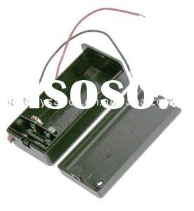 9V Battery holder with Sliding Cover and Switch