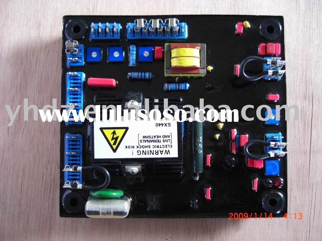 Generator Voltage Regulator Leroy Somer R438 Wiring Diagram Avr Sx440