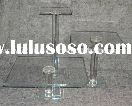 FC-045 Acrylic cake stand - Square base 7 tier