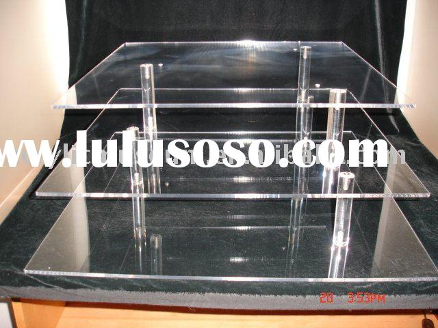 Sheet Cake Stand Fc-056 Acrylic Cake Stand 3