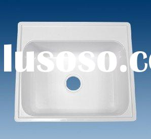 High quality plastic sinks& artificial stone basin&artificial stone kitchen sink (OEM)