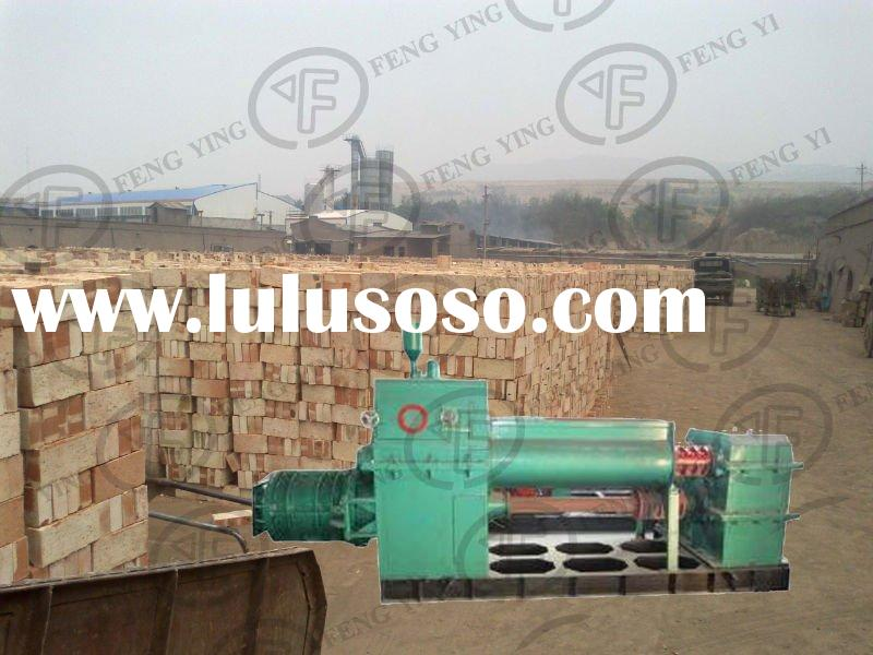 Hot sale in India!!.1.YF Double stage vacuum extruder,clay brick process machine