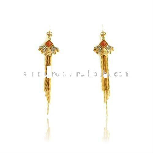 India Macrame Chandelier Earrings Design
