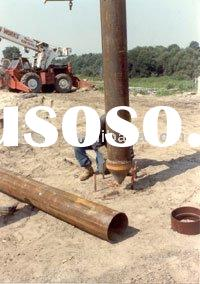LSAW Steel Pipe Piles for offshore construction