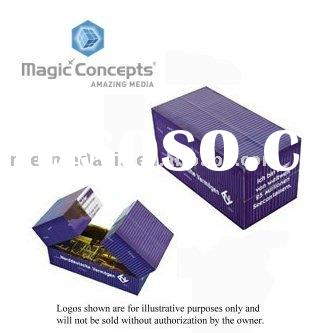 Magic Puzzle cube - Container