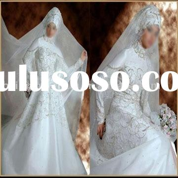 New style Muslim wedding gown MS200