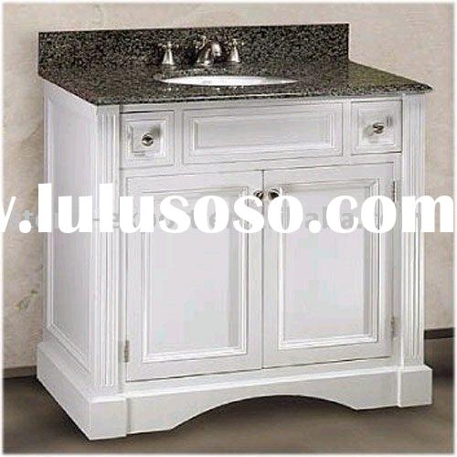 Offer bathroom vanity cabinets, bathroom basin cabinet with granite marble countertops and ceramic w