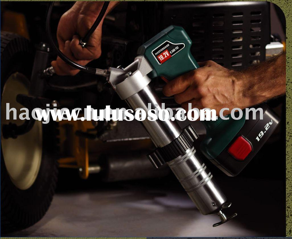 SUPER DEAL 19.2V high volume cordless battery grease gun,lubricate tool