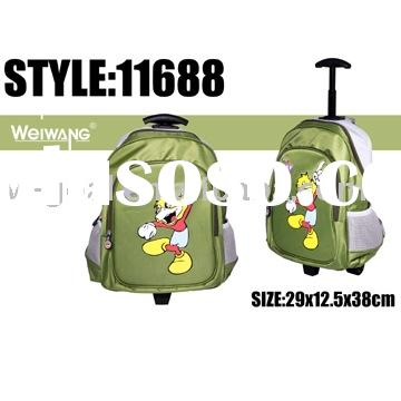 School bags(kid's trolley school bags,trolley satchel)