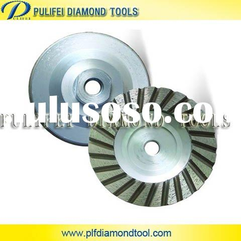 Turbo Cup Grinding Wheel - Aluminum Base