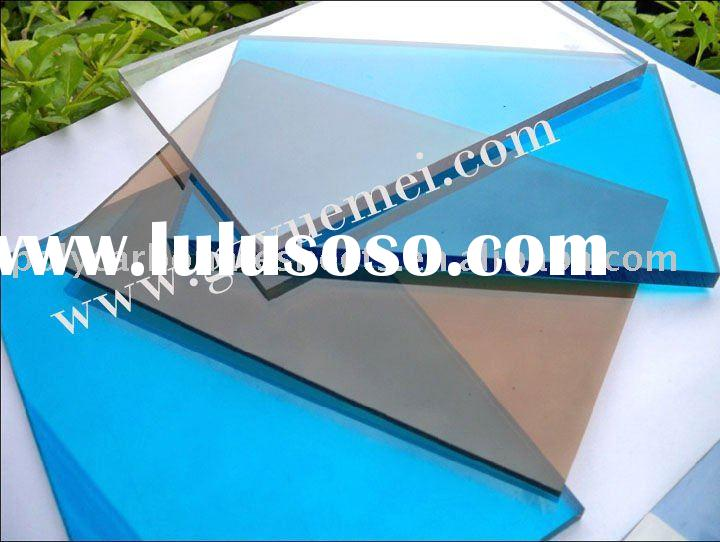 UV-coating polycarbonate panel plastic construction material