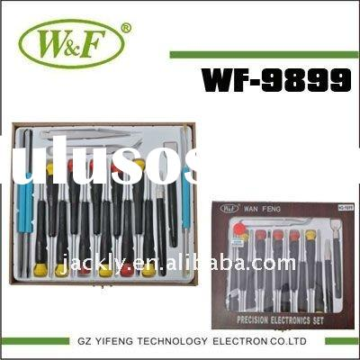 WF-9899 18in1 Wooden Box CR-V ,Garden work tools ( screwdriver ),,CE Certification