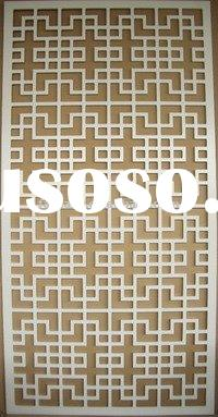 Wall decoration wood panels! MDF grille wall panel!