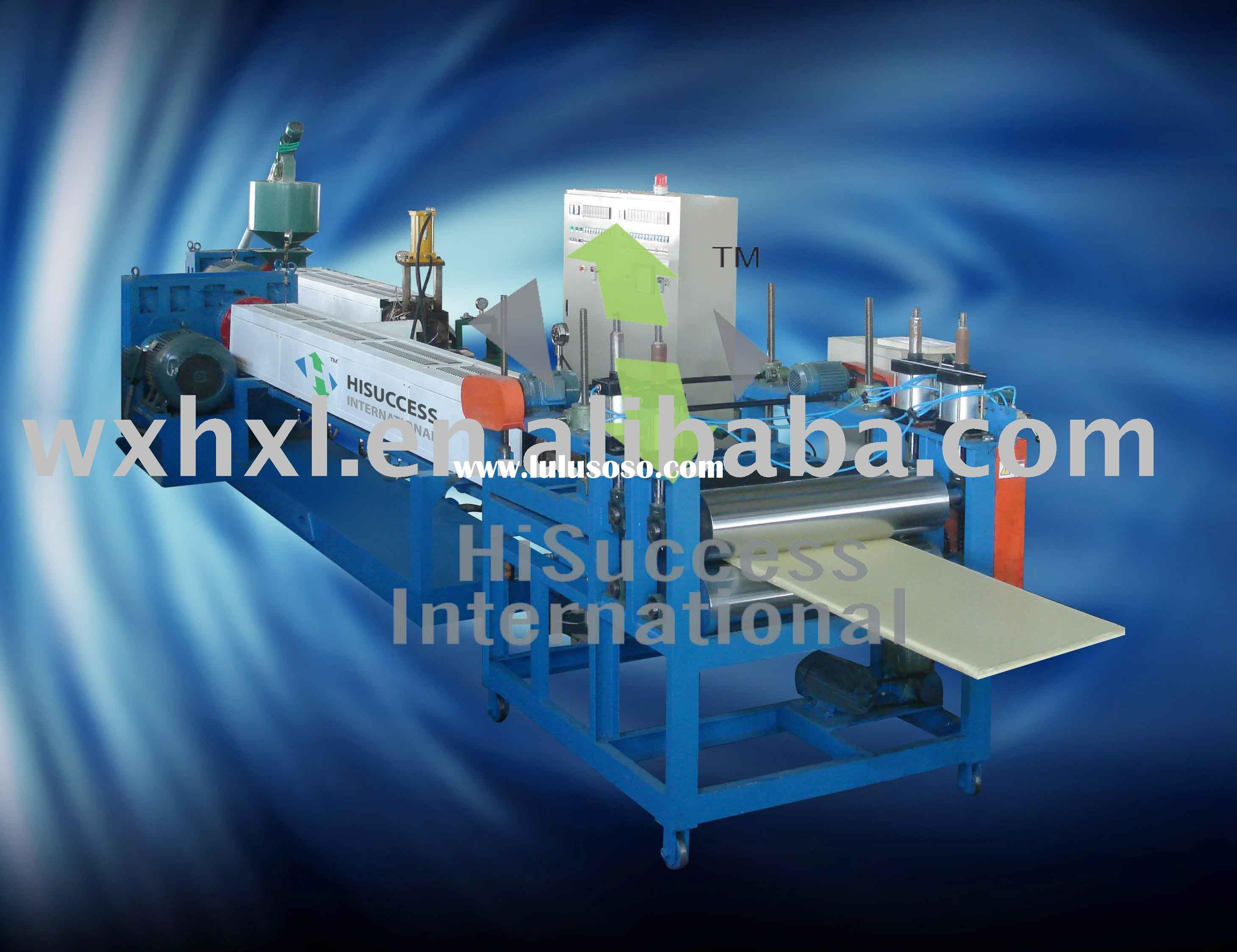 XPS (Extruded Polystyrene) Insulation Board Production Line/ XPS Board Production Line