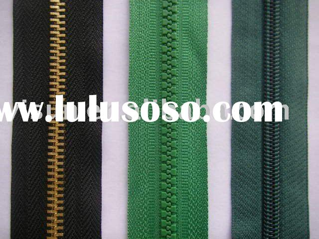 Zipper,Invisible Zipper,Brass Zipper, Aluminum Zipper, Nylon Zipper