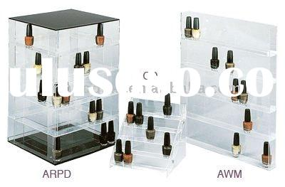 acrylic display stand for cosmetic nail polish bottle