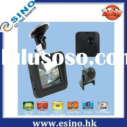 car video recorder gps,car dvr camera,ES-T2 1080P LCD touch screen for viewing recorded video with t