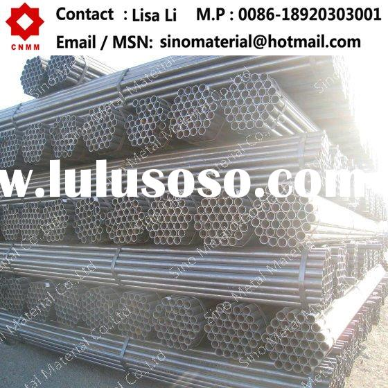 g.i. pipe ASTM A53 Gr.B ERW Welded structure pipe