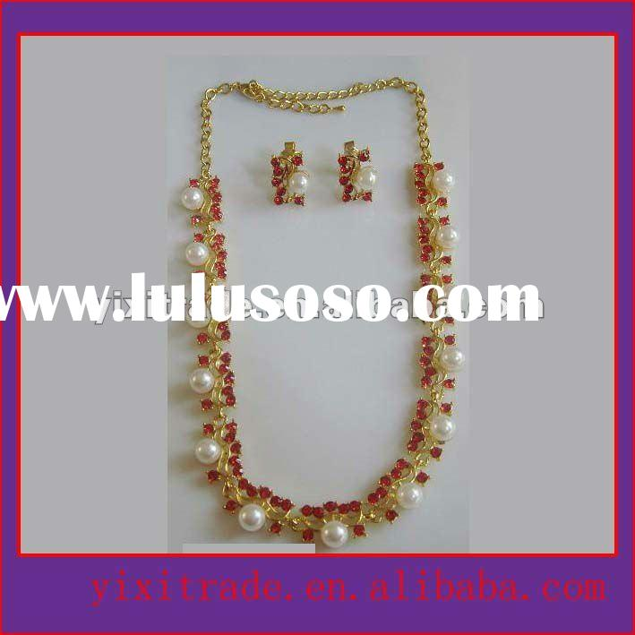 golden jewelry,artificial necklace sets,fashion jewellery