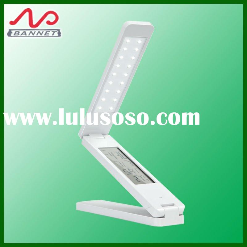 portable led calendar book light, rechargeable USB reading lamp