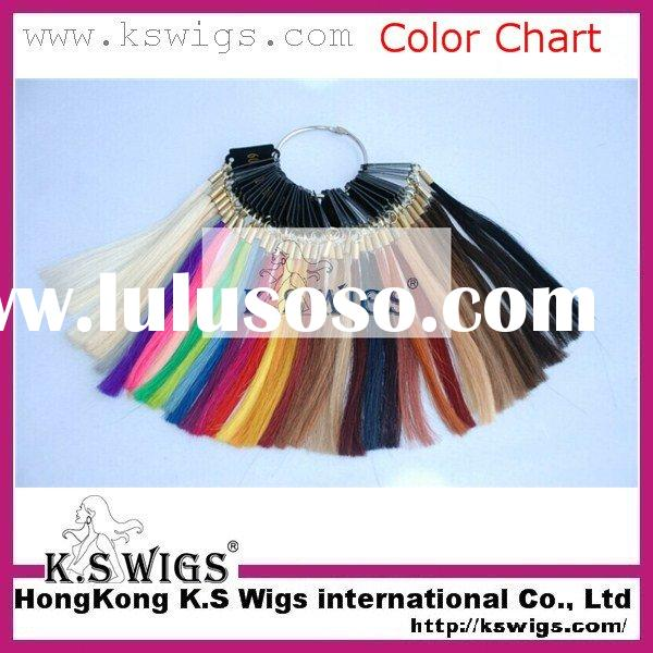 real human hair color chart, human hair color ring