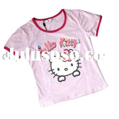 Hello kitty rhinestone design for t shirt hello kitty for Hello kitty t shirt design