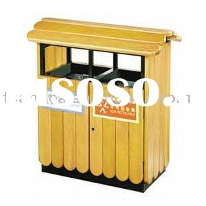 Wooden Trash Can Cover Plans