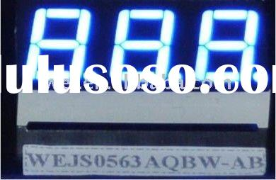 "0.31"" 7 segment 4 digits LED digit display"