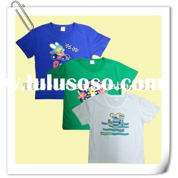 100% cotton baby boy t shirt