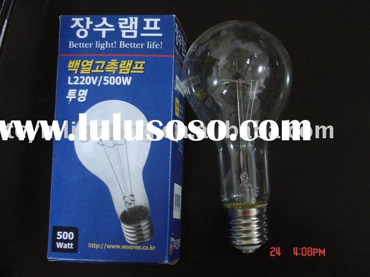 150W incandescent bulb have 1500H HAVE CE certificate