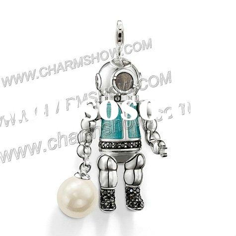 2011 Latest Style 925 Sterling Silver Jewelry Charm Pendants