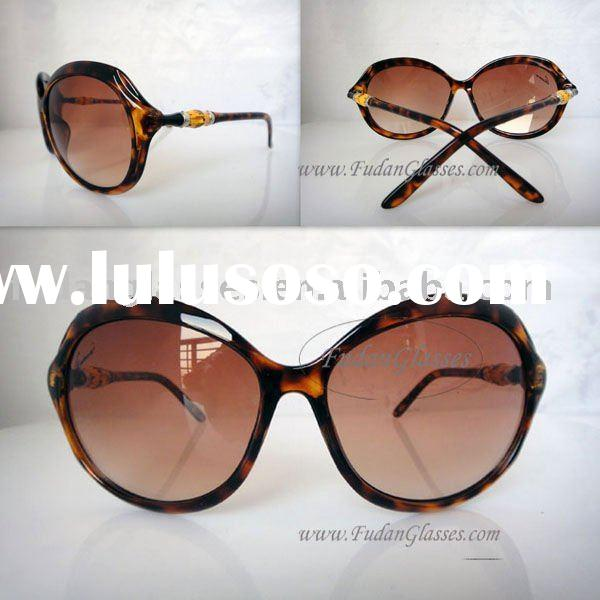 2011 New style Brand name Fashion sunglasses designer sunglasses Gu3130S791 Havana-BRN SHADED