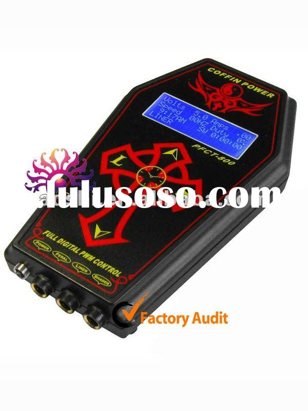 2011 Newest intelligent digital led tattoo power station, tattoo power unite, Tattoo Power Supply