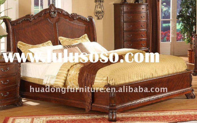 antique wood beds 1