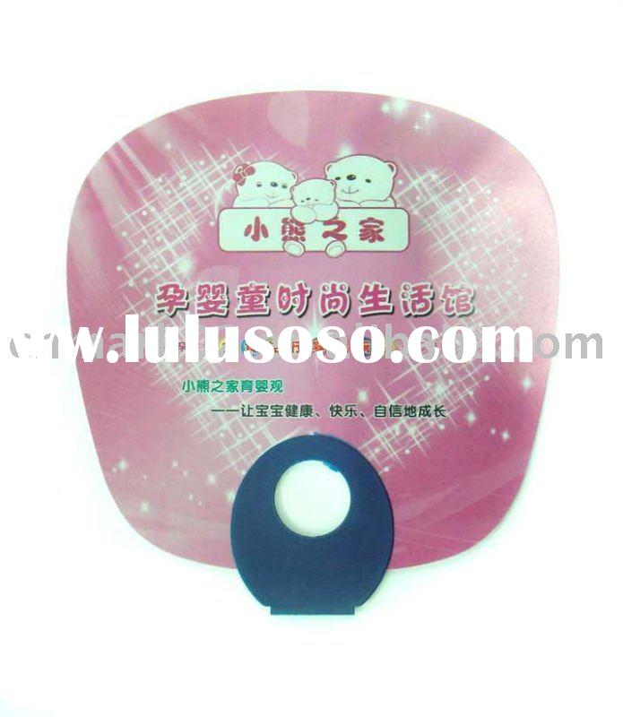 2011 cheap promotion gift plastic hand fan