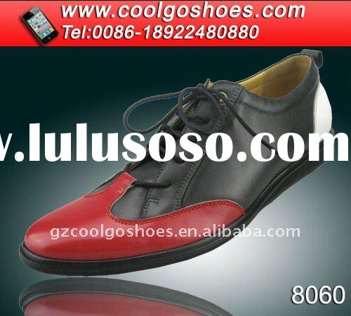 2011 latest Italian style colorful fashion young men casual shoes