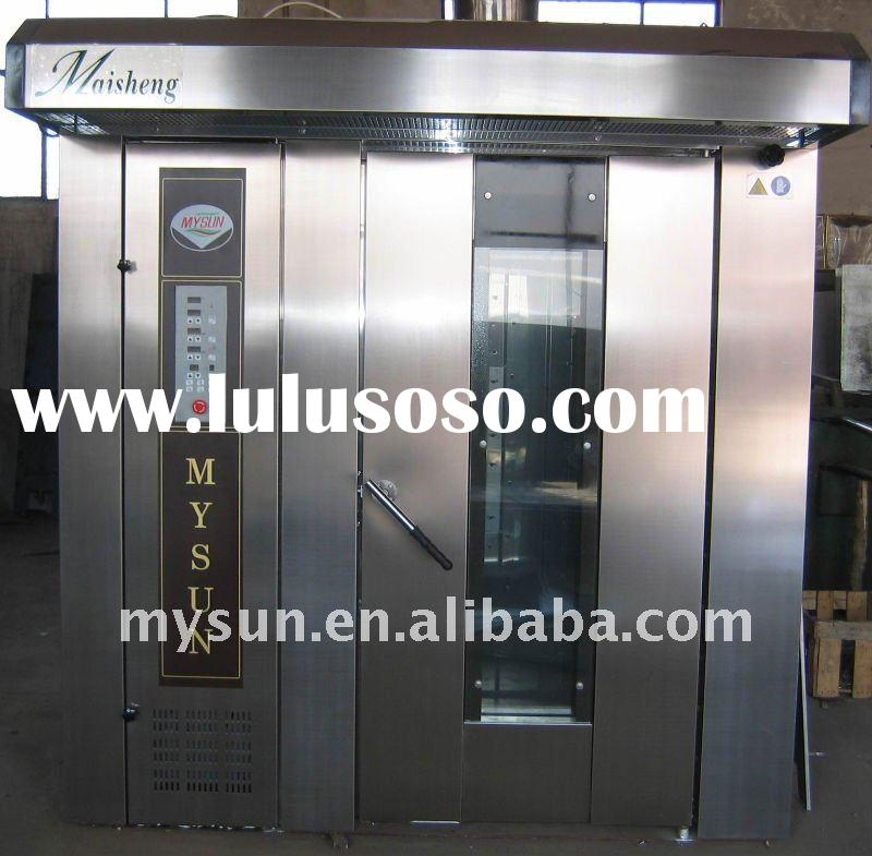 2011 new 32 trays stainless steel gas rotary oven (CE certification)/bread equipment /bakery machine