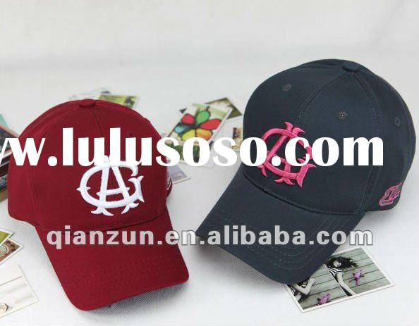 2012 Best Seller Custom Embroidery Baseball Caps and Hats
