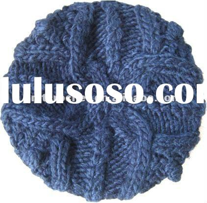 2012 Hand Knit Beanie Beret Hat For Women Fall Fashion Winter Fashion